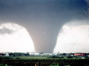 Edmonton, Canada F4 Tornado on July 31st, 1987.