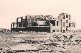 Damage from the Tri-State Tornado of March 18th, 1925.