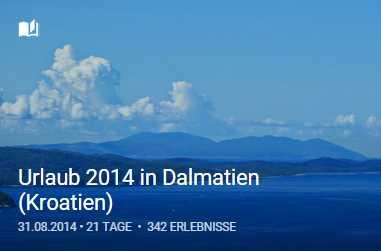 Bildergeschichte Dalmatien