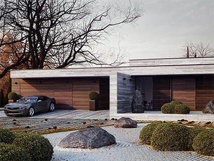 uPVC window and door to build a beautiful dream home