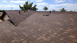 residential roof job