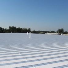 Silicone Flat Roof