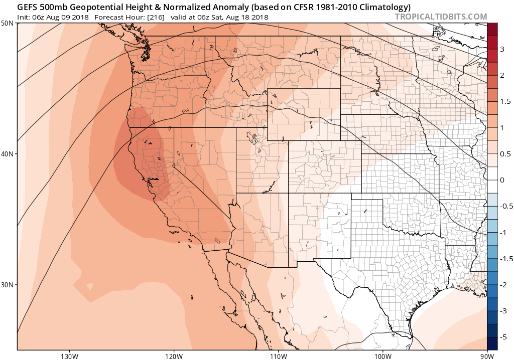 July 2018 warmest month in California history