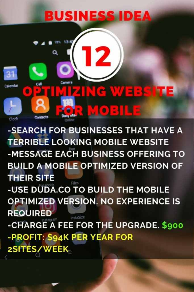 Optimizing Website for Mobile