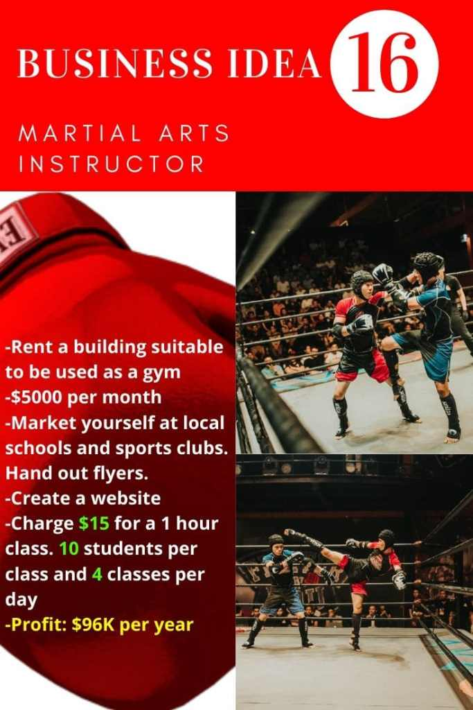Martial Arts Instructor