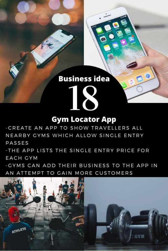 Gym Locator App