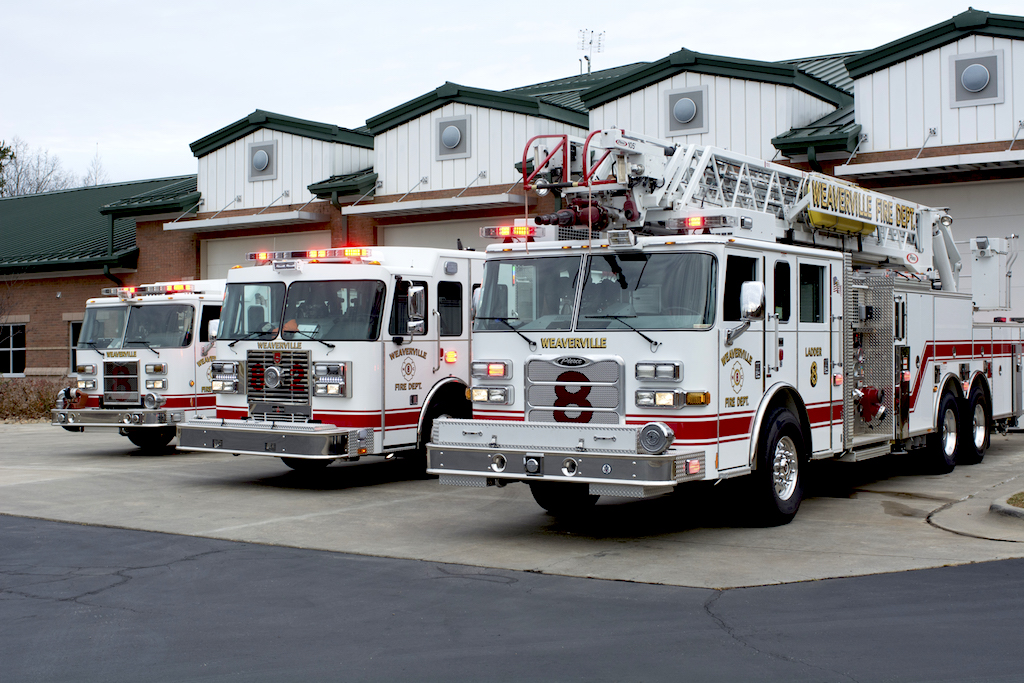 Photo of Weaverville Fire Department Engines & Ladders