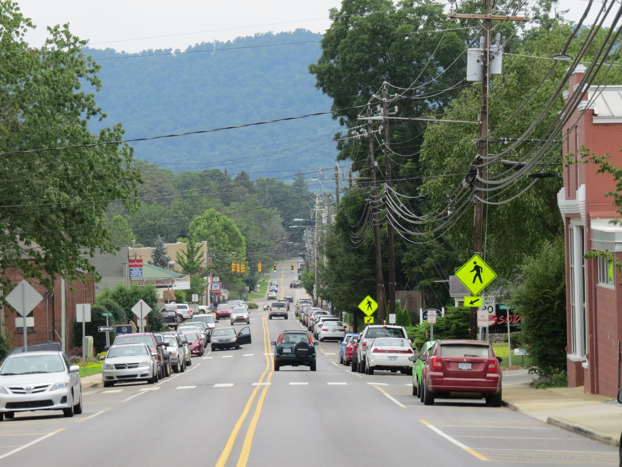 Town Of Weaverville NC Downtown North 2