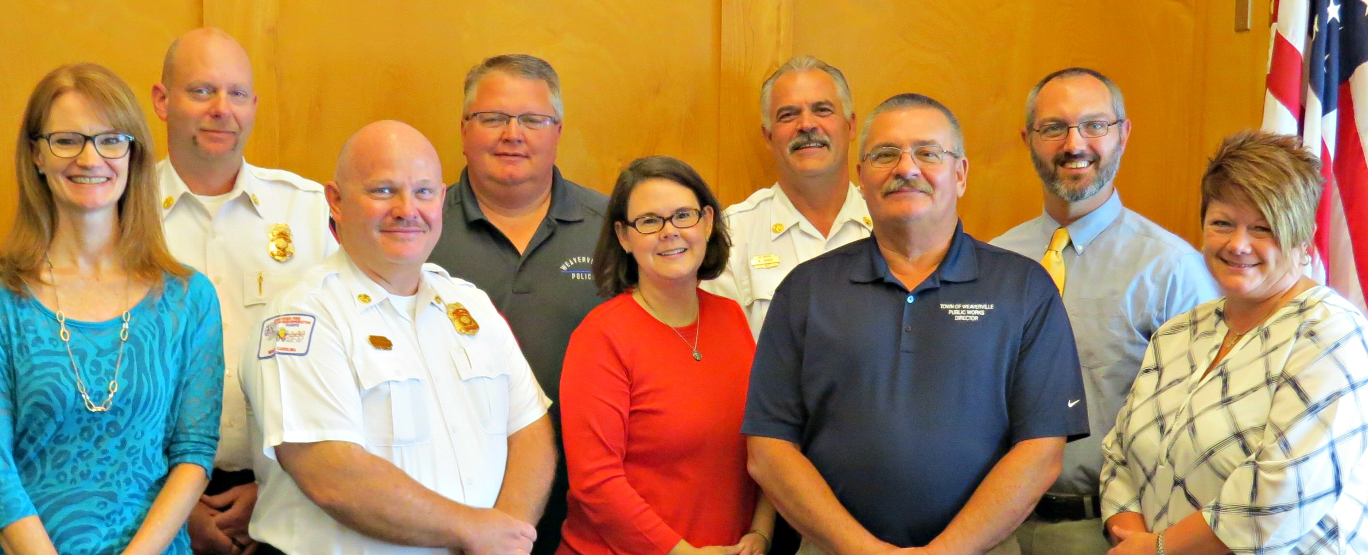 Town Of Weaverville NC Management Team