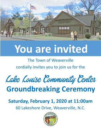 Community Center Groundbreaking