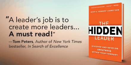 Featured on Friday: #HiddenLeaders Authors @ScottKEdinger and Laurie Sain