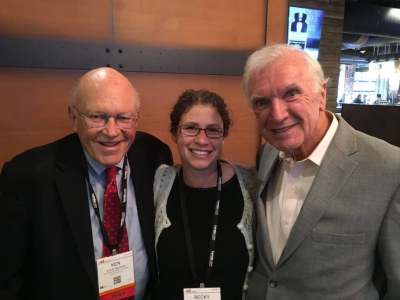 One of the highlights for Becky was catching up with Ken Blanchard and Bill Byham.
