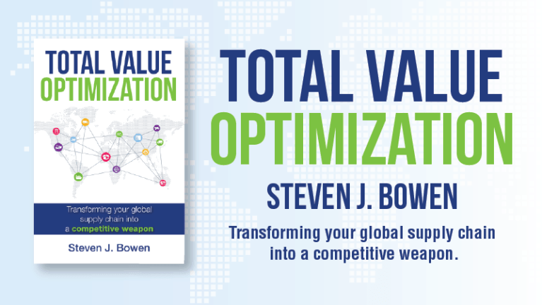 Total Value Optimization – Steven J. Bowen