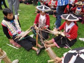 Backstrap weaving