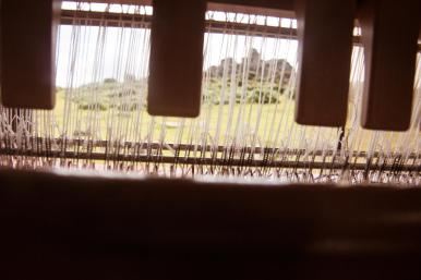 A loom with a view, by Alice Carfrae ©