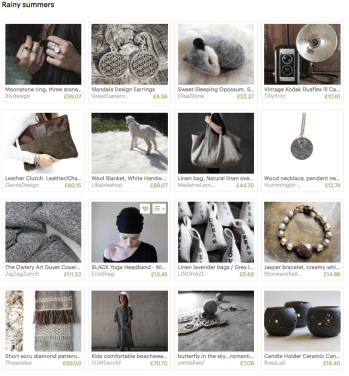 Someone else's cool collection featuring my work among their selection of Etsy treasures