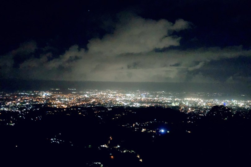 TOP OF CEBUの夜景