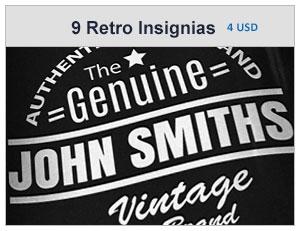 vintage retro logos