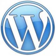 WordPress.com logo glossy