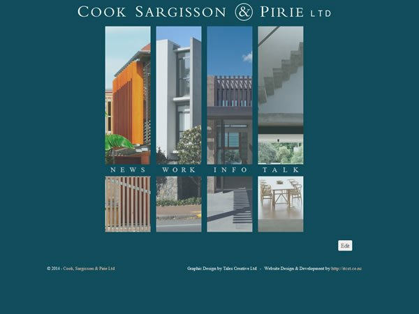 Cook Sargisson & Pirie home page