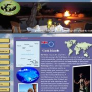 SGH Travel Cook Islands page is a sub-page of Oceania travel targets;