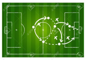 12946398-Soccer-game-strategy-Stock-Photo