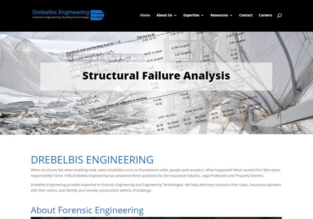 Drebelbis Engineering Web Site