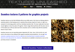Seamless Textures Unleashed Web Site