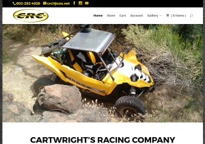 Cartwright's Racing Company Web Site