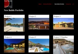 Red Moon Development & Construction Web Site