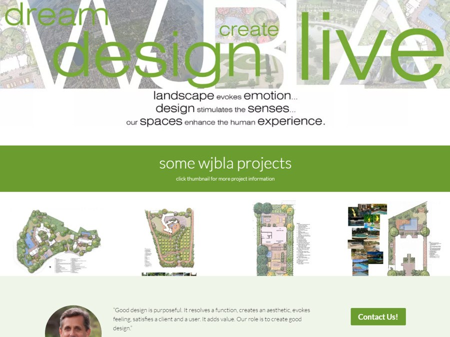Bringing a Landscape Design Firm to the Web