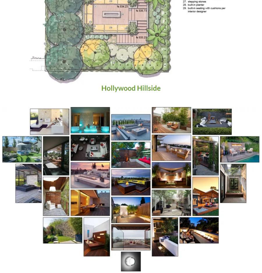 William Brunsky Hollywood Hillside Project
