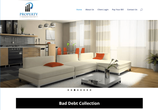 Property Management Collections Web Site