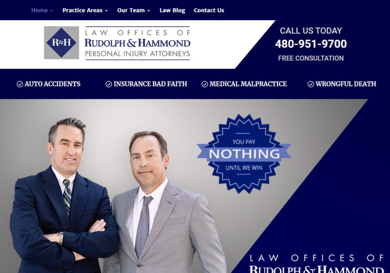 Rudolph & Hammond Personal Injury Lawyers
