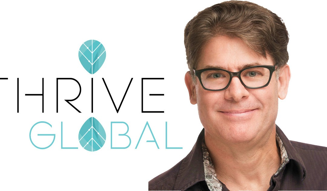 Importance of Owning Content in Thrive Global Interview