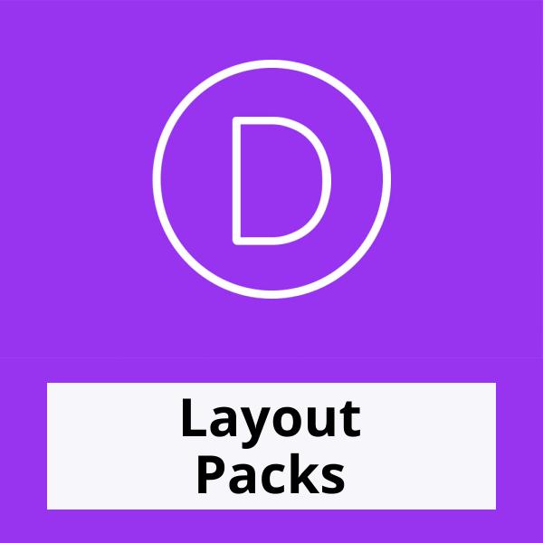 Divi Layout Packs