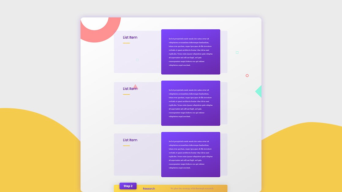 How to Use Divi to Guide People Through Different Sticky Steps