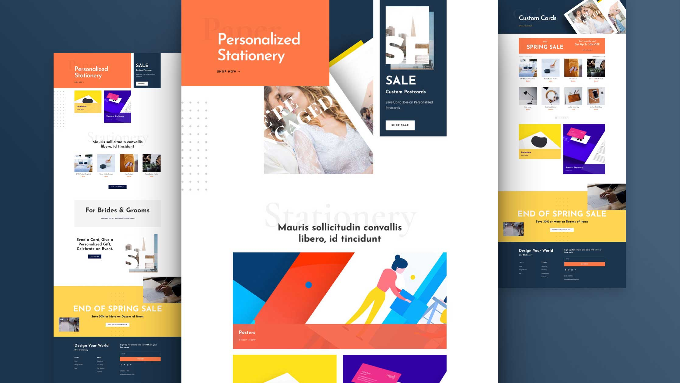 Get a FREE Stationery Shop Layout Pack for Divi