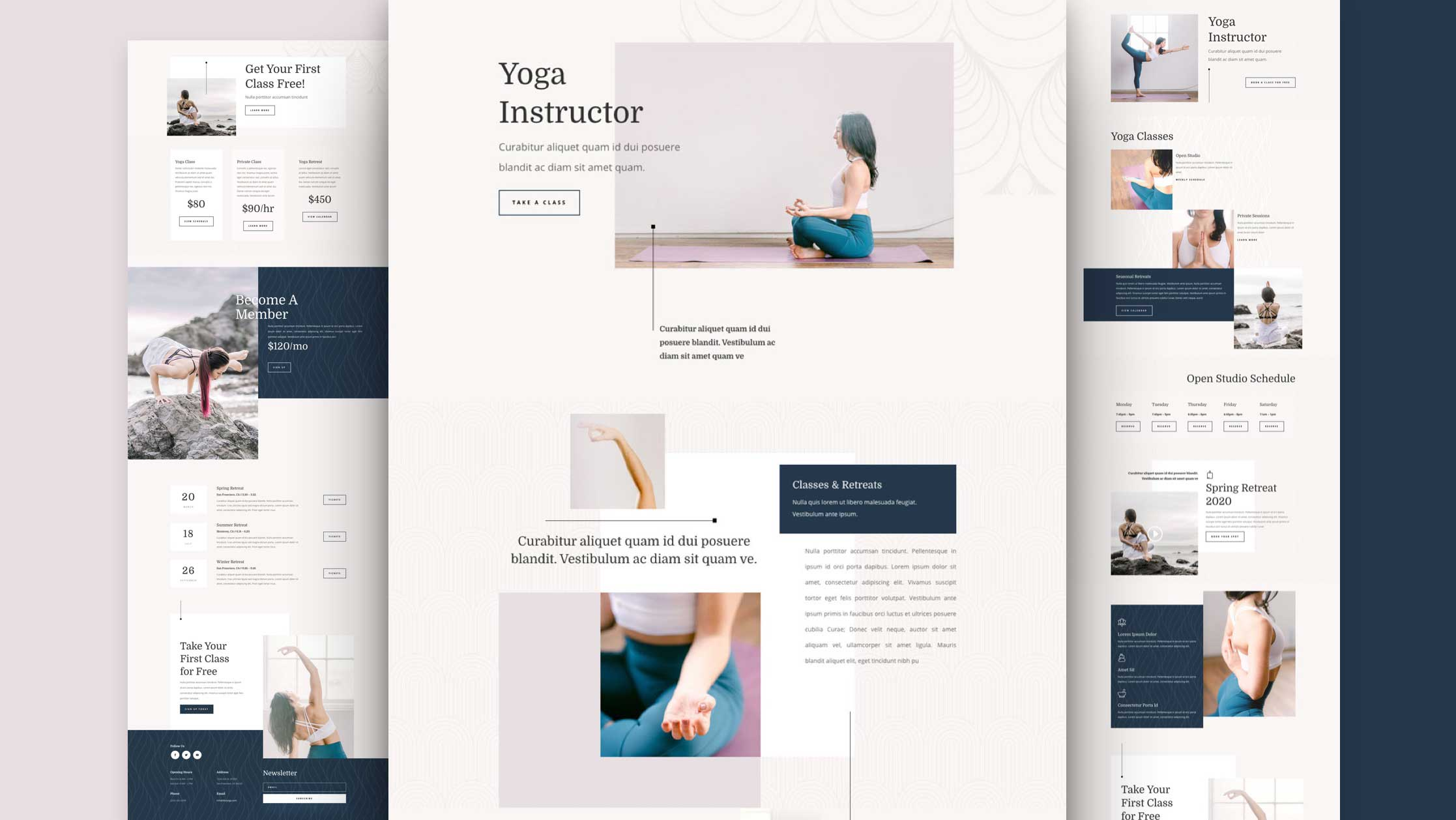 Get a FREE Yoga Instructor Layout Pack for Divi