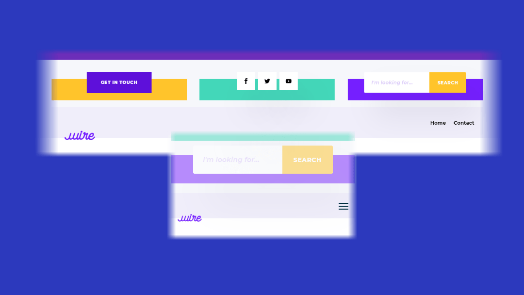 How to Create a Divi Overlapping Logo