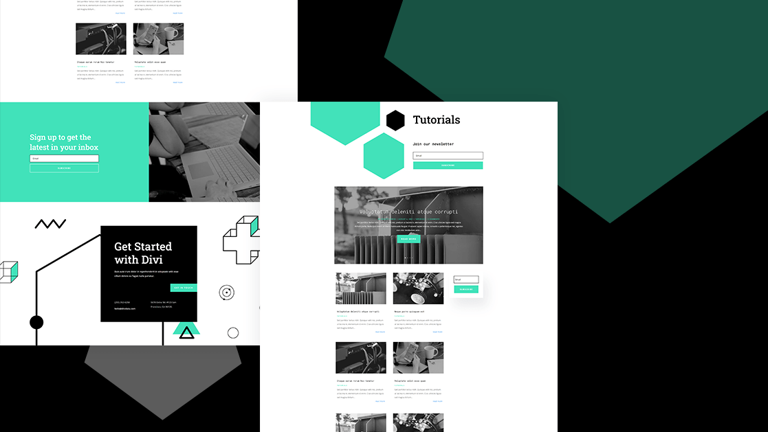 Download a FREE Category Page Template for Divi's Data Science Layout Pack
