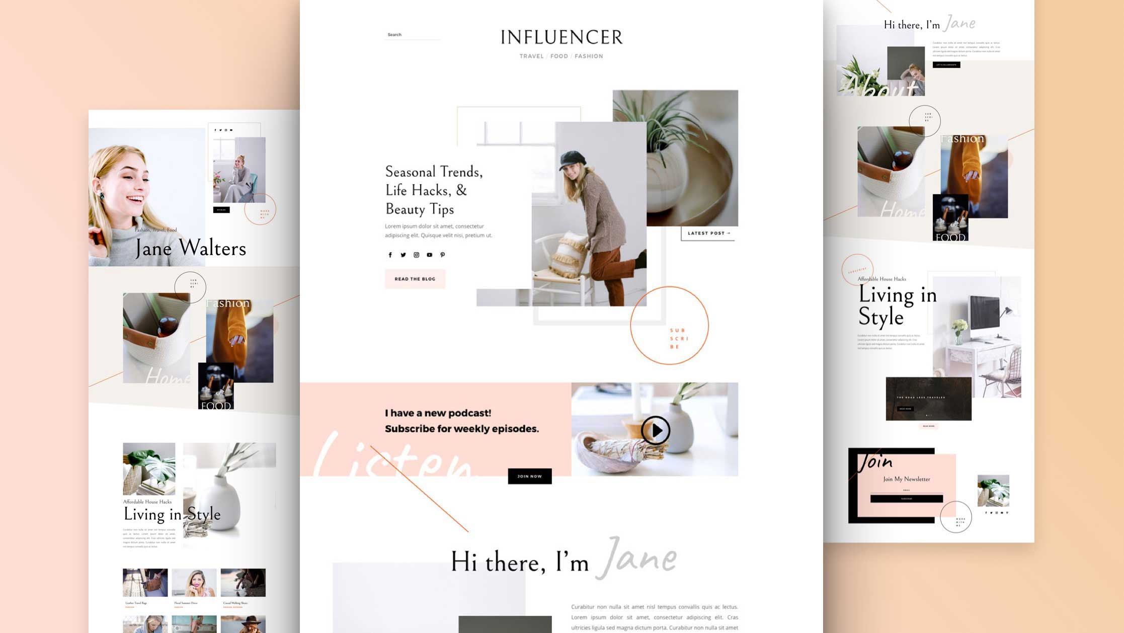 Get a New Influencer Layout Pack for Divi