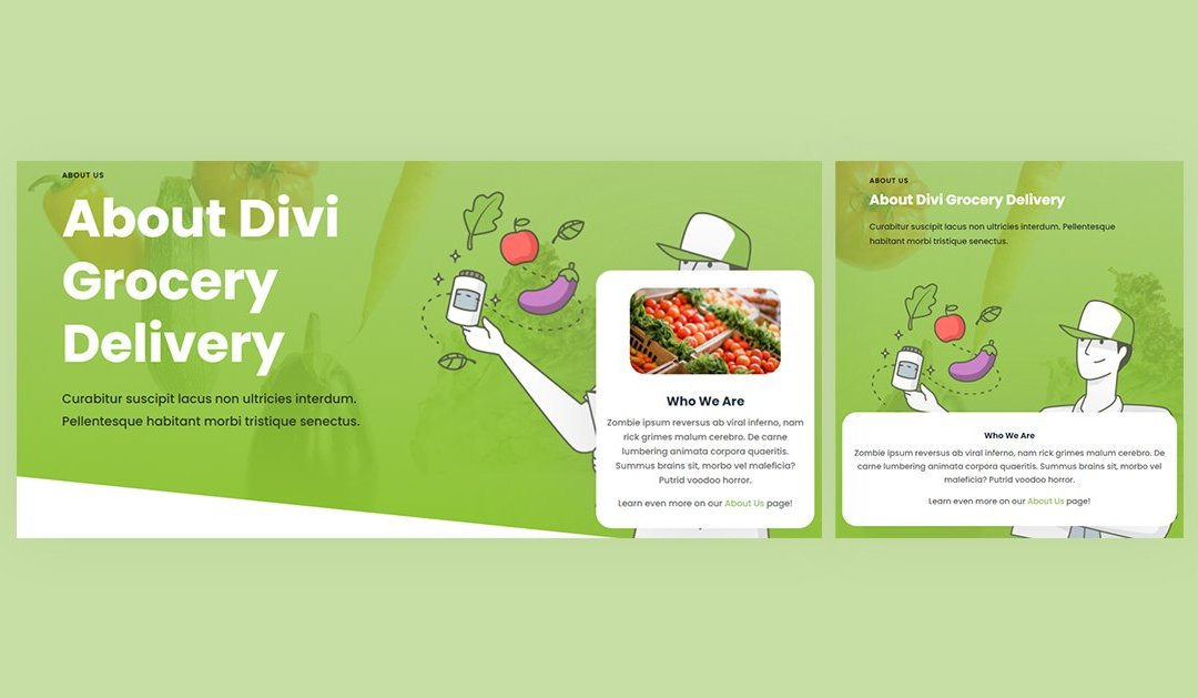 How to Add a Floating About Card to Your Divi Site