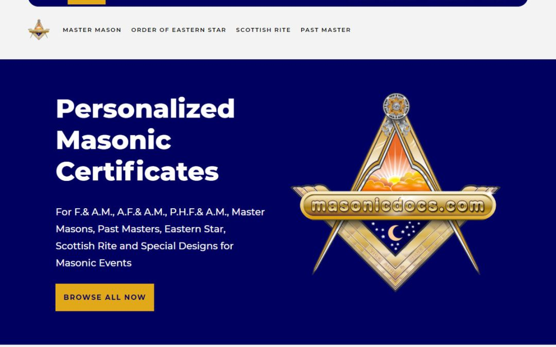 Masonic Documents