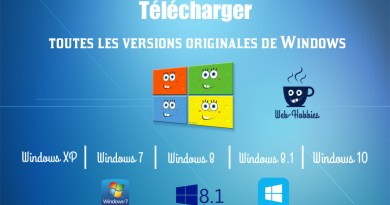 Télécharger toutes les versions originales de Windows 7 - Windows 8