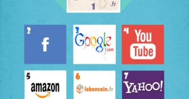 Top 10 sites internet les plus visites en France - Mai 2015 -
