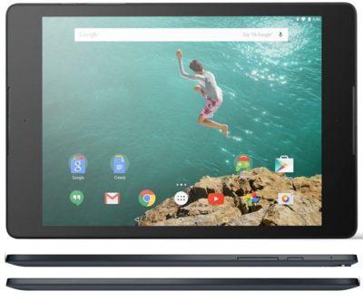 Google Nexus 9 : TOP 10 tablettes : Les meilleures tablettes 10 pouces en 2015