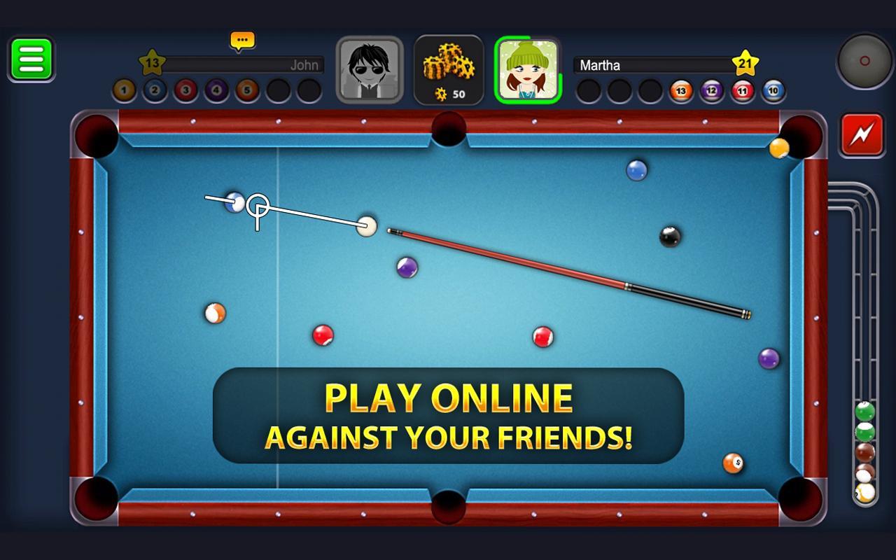 jeux flash billard 8 pool