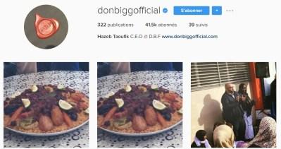 Instagram de Don Bigg - Rap Maroc 2017