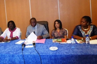 mages from the launch of the mobile application in Burkina Faso